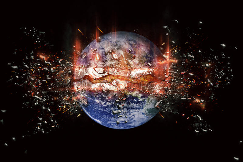 Παγκόσμιες βόμβες πλανητών απεικόνιση αποθεμάτων