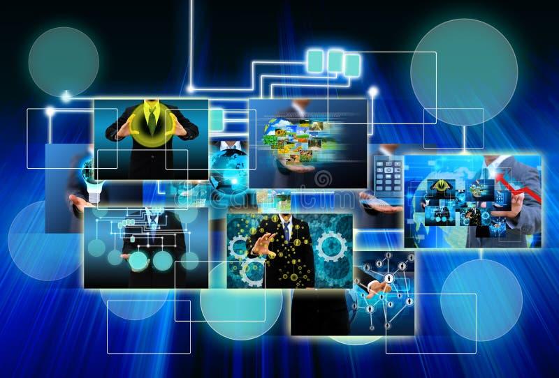 Παγκόσμιες επιχείρηση και τεχνολογία στοκ φωτογραφίες με δικαίωμα ελεύθερης χρήσης