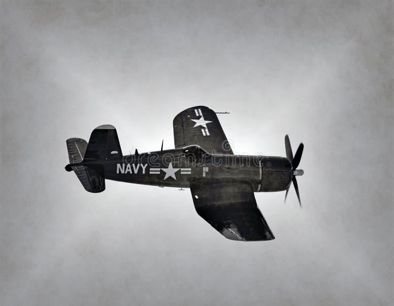 Παγκόσμιος πόλεμος 2 αεροπλάνο ναυτικού στοκ φωτογραφίες με δικαίωμα ελεύθερης χρήσης