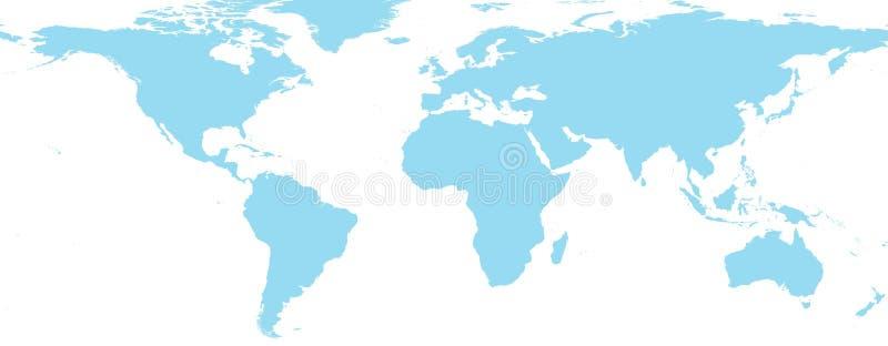 Παγκόσμιος χάρτης στοκ φωτογραφία