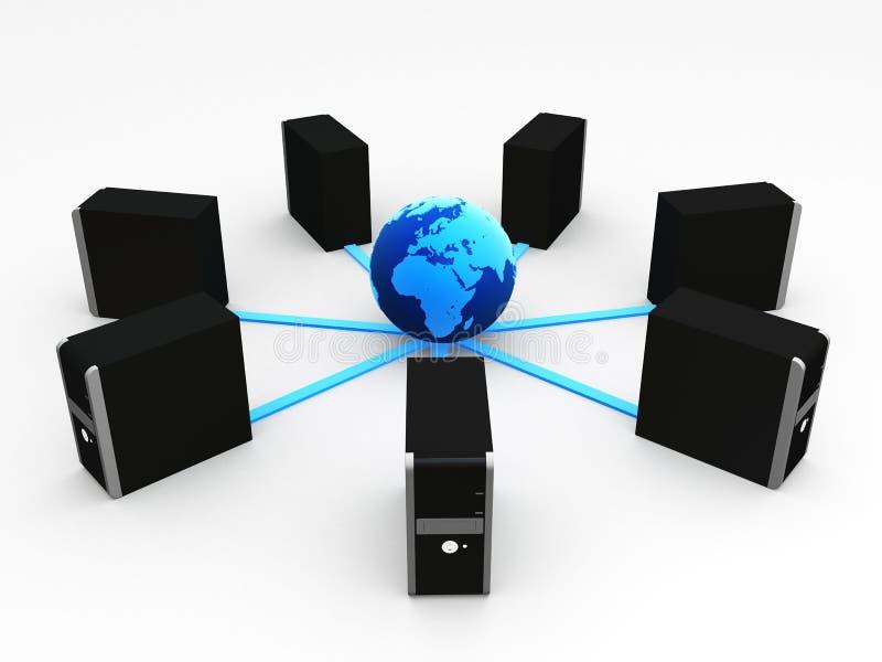 παγκόσμιο δίκτυο απεικόνιση αποθεμάτων