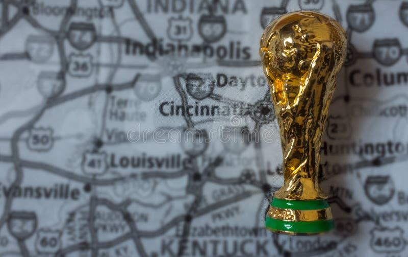 Παγκόσμιο Κύπελλο της FIFA στοκ εικόνες