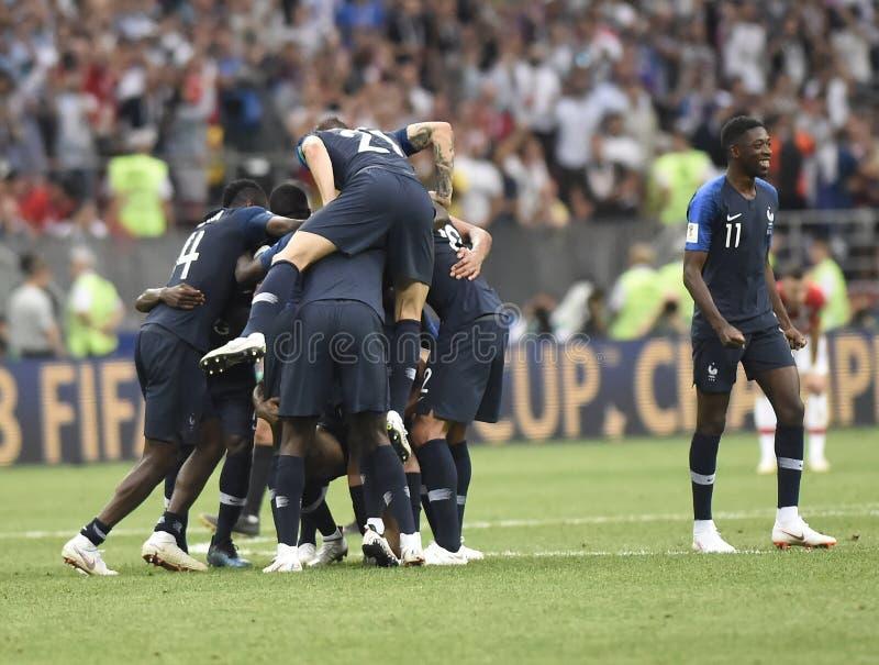 Παγκόσμιο Κύπελλο 2018 στοκ φωτογραφίες