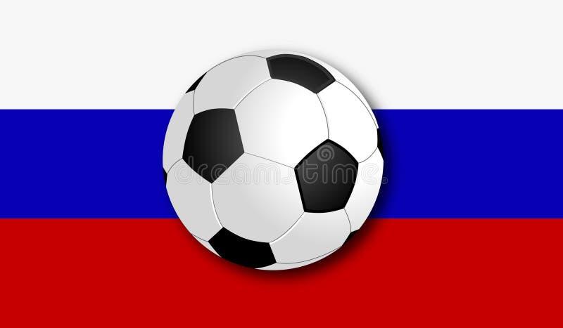 Παγκόσμιο Κύπελλο 2018 ποδοσφαίρου στη Ρωσία στοκ εικόνα