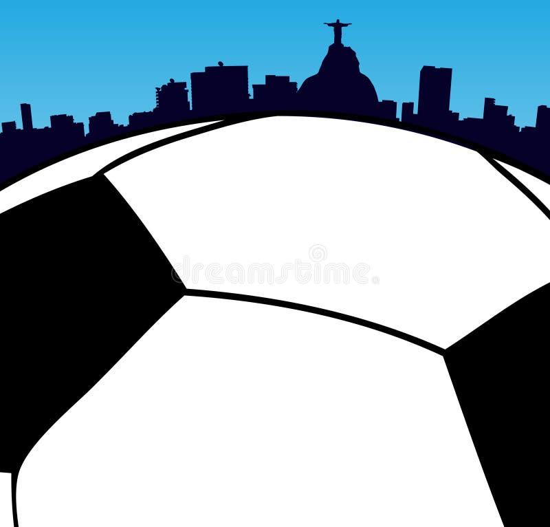2014 Παγκόσμιο Κύπελλο στο Ρίο απεικόνιση αποθεμάτων