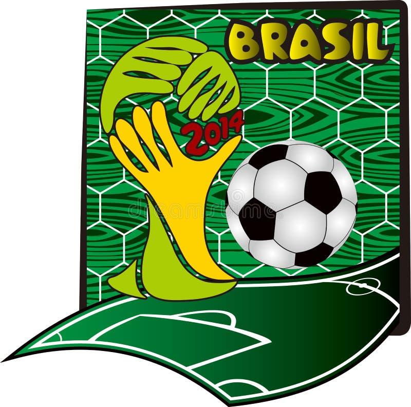 Παγκόσμιο Κύπελλο 2014 στοκ εικόνες