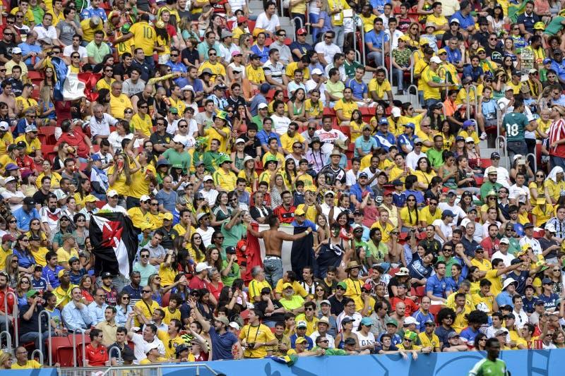 Παγκόσμιο Κύπελλο 2014 στοκ φωτογραφία με δικαίωμα ελεύθερης χρήσης