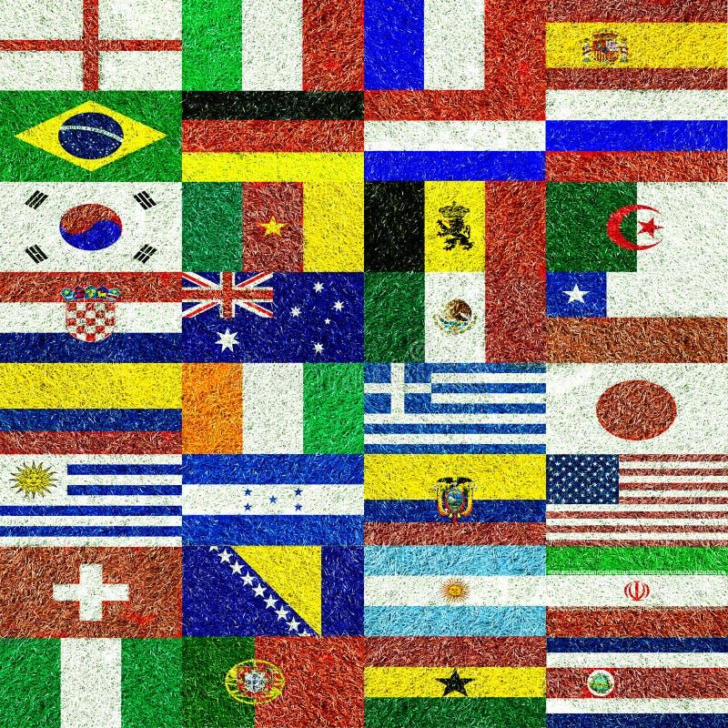 Παγκόσμιο ποδόσφαιρο στοκ φωτογραφία με δικαίωμα ελεύθερης χρήσης