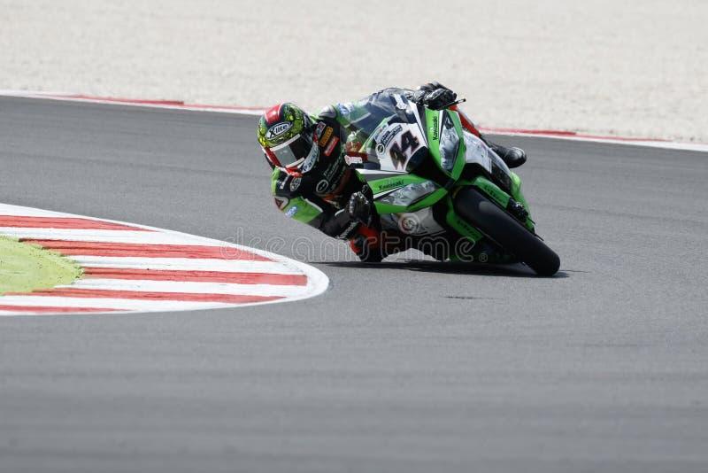 Παγκόσμιο πρωτάθλημα FIM Superbike - ελεύθερη 3η σύνοδος πρακτικής στοκ εικόνες με δικαίωμα ελεύθερης χρήσης