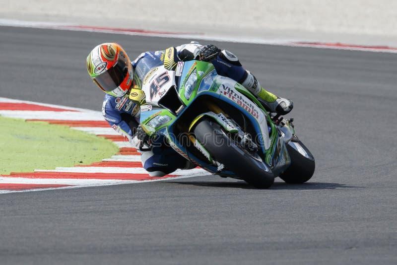 Παγκόσμιο πρωτάθλημα FIM Superbike - ελεύθερη 3η σύνοδος πρακτικής στοκ φωτογραφία