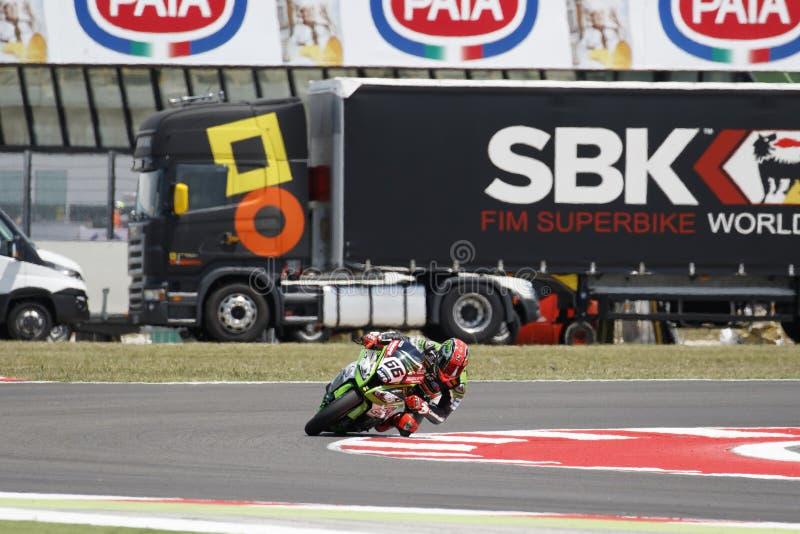 Παγκόσμιο πρωτάθλημα FIM Superbike - ελεύθερη 4η σύνοδος πρακτικής στοκ φωτογραφίες με δικαίωμα ελεύθερης χρήσης