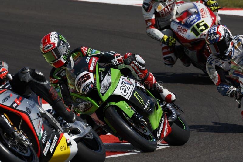 Παγκόσμιο πρωτάθλημα FIM Superbike - σύνοδος Superpole (2) στοκ εικόνες