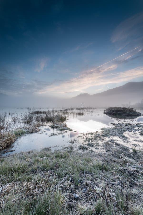 παγωμένη ανατολή στοκ φωτογραφίες με δικαίωμα ελεύθερης χρήσης