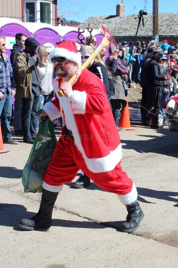 Παγωμένη νεκρή παρέλαση τύπων στοκ φωτογραφία με δικαίωμα ελεύθερης χρήσης