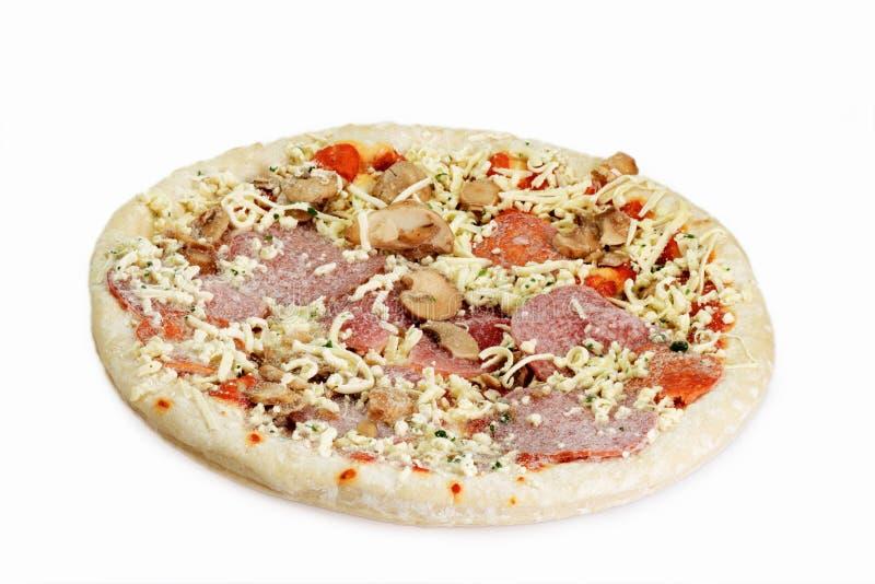 παγωμένη πίτσα στοκ εικόνα