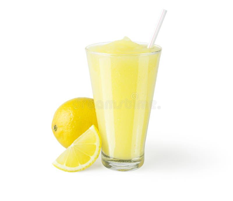 Παγωμένος καταφερτζής λεμονάδας ή λεμονιών στοκ φωτογραφία
