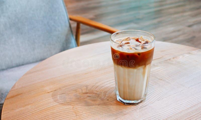 Παγωμένος καφές στη καφετερία στοκ εικόνες