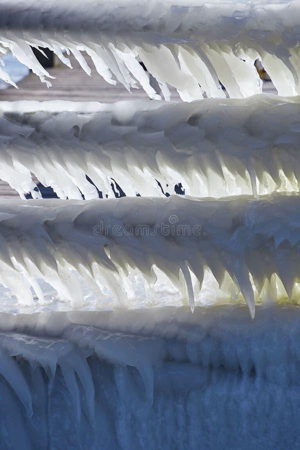 Παγωμένος χειμώνας στη Mecklenburg-$l*Vorpommern, βόρεια της Γερμανίας στοκ φωτογραφία