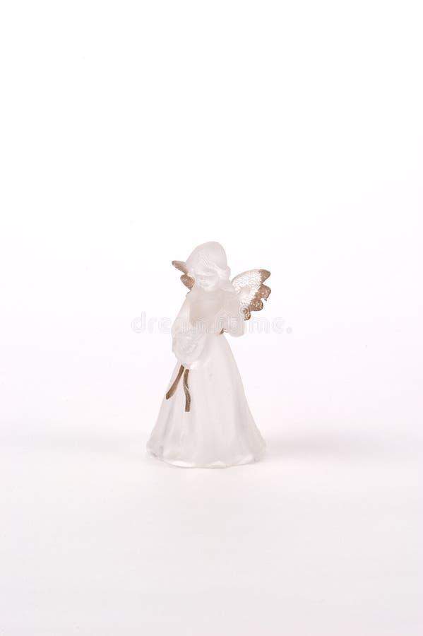 παγωμένο άγγελος γυαλί στοκ φωτογραφία με δικαίωμα ελεύθερης χρήσης