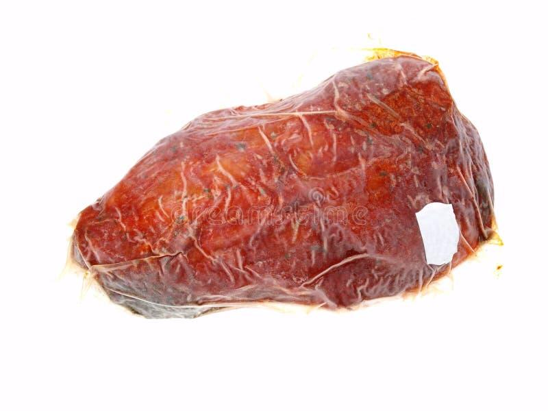 παγωμένο κρέας που συσκ&eps στοκ φωτογραφία με δικαίωμα ελεύθερης χρήσης
