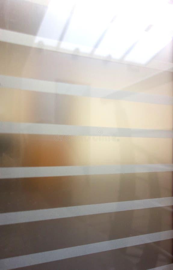 Παγωμένο παράθυρο γραφείων στοκ φωτογραφία με δικαίωμα ελεύθερης χρήσης