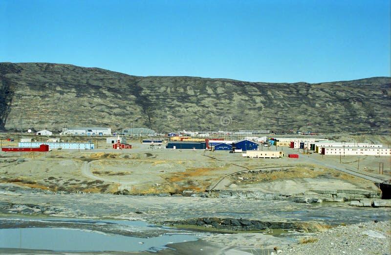 Παγωμένο τοπίο, Γροιλανδία στοκ φωτογραφία