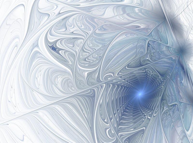 Παγωμένο χειμερινό σχέδιο Αφηρημένη μορφή απεικόνιση αποθεμάτων