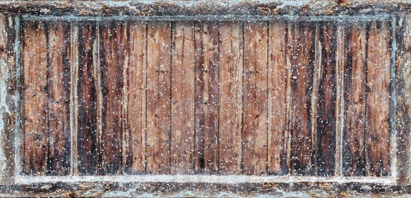 Παγωμένο χειμερινό υπόβαθρο ελεύθερη απεικόνιση δικαιώματος