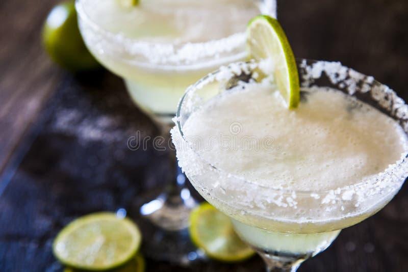 Παγωμένο Margaritas στοκ εικόνες
