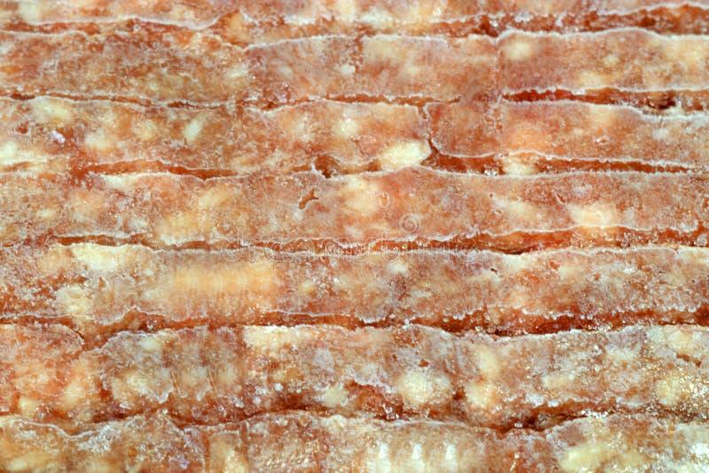 παγωμένο meatloaf στοκ εικόνα με δικαίωμα ελεύθερης χρήσης