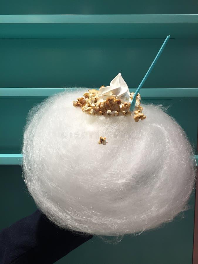 Παγωτό με το νήμα νεράιδων στοκ εικόνες