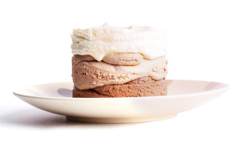 Παγωτό τρεις-στρώματος στοκ φωτογραφία με δικαίωμα ελεύθερης χρήσης