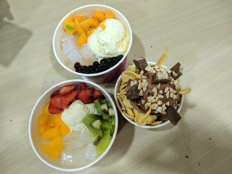 παγωτό τροφίμων εύγευστο από την Ινδονησία στοκ φωτογραφία με δικαίωμα ελεύθερης χρήσης