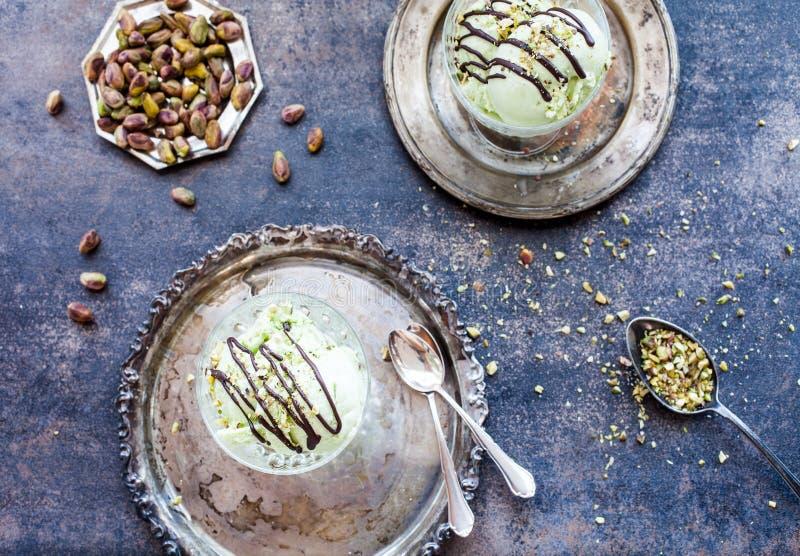 Παγωτό φυστικιών στοκ φωτογραφία με δικαίωμα ελεύθερης χρήσης