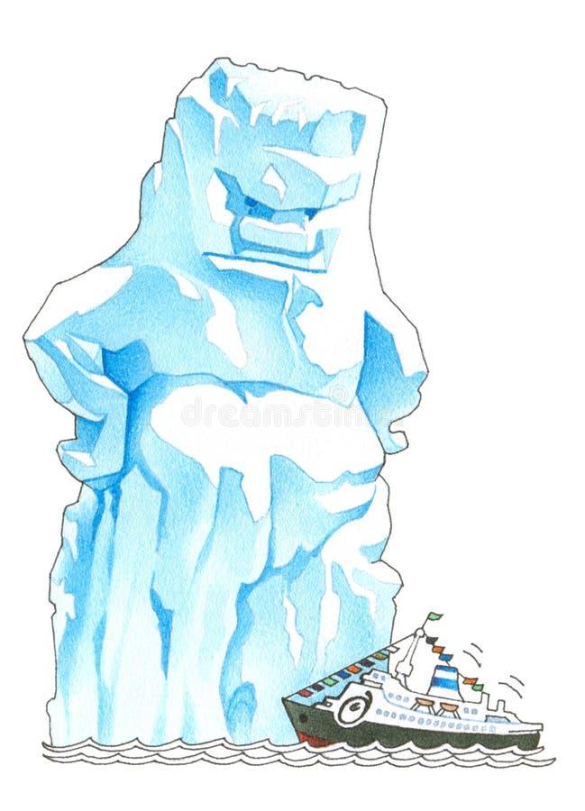 παγόβουνο διανυσματική απεικόνιση