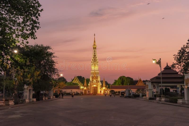 Παγόδα στην επαρχία Nakhon Phanom στοκ εικόνες με δικαίωμα ελεύθερης χρήσης