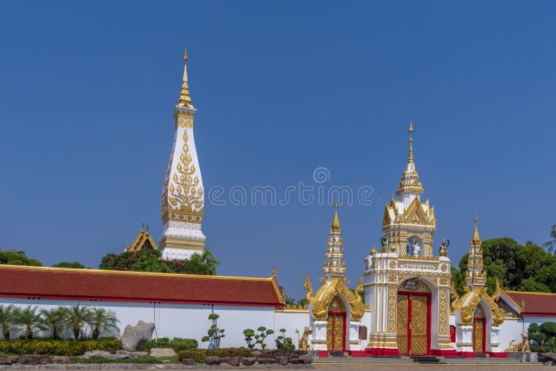Παγόδα στην επαρχία Nakhon Phanom στοκ φωτογραφία με δικαίωμα ελεύθερης χρήσης
