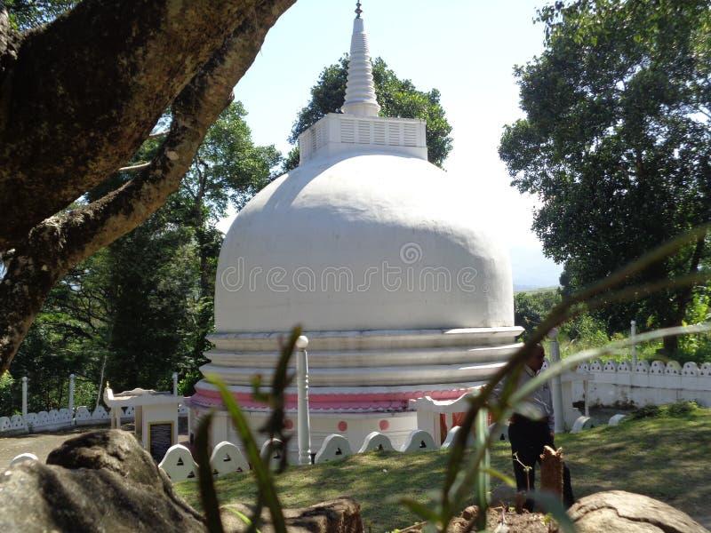 Παγόδα στο aluviharaya Σρι Λάνκα Mathale στοκ εικόνες