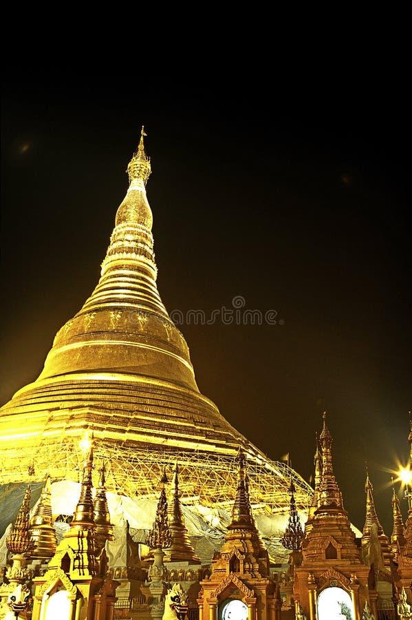 παγόδα της Βιρμανίας Myanmar schwedagon yangon στοκ εικόνα με δικαίωμα ελεύθερης χρήσης