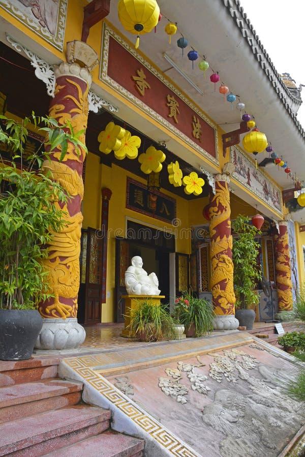 Παγόδα Phap Bao Chua στοκ φωτογραφίες
