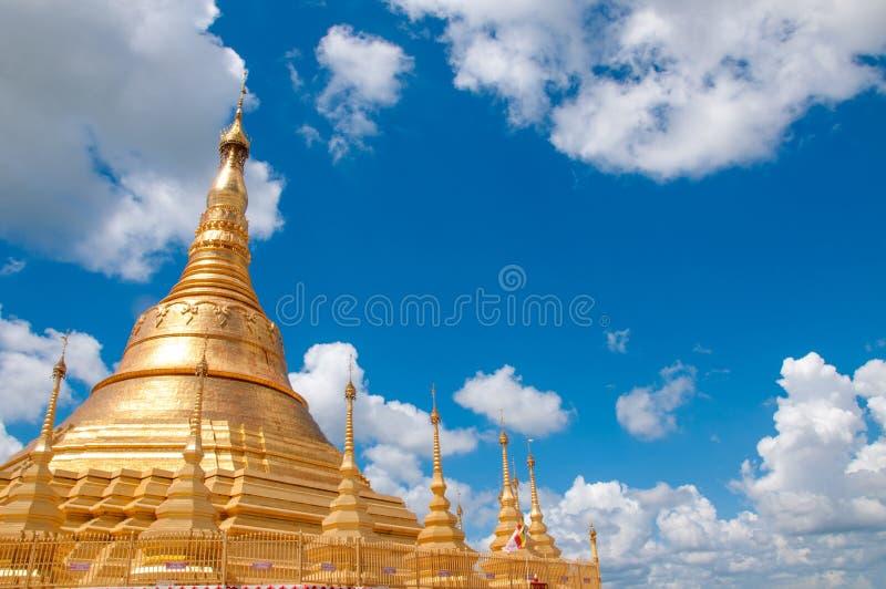 Παγόδα Shwedagon, Tachileik, Myanmar στοκ εικόνα με δικαίωμα ελεύθερης χρήσης
