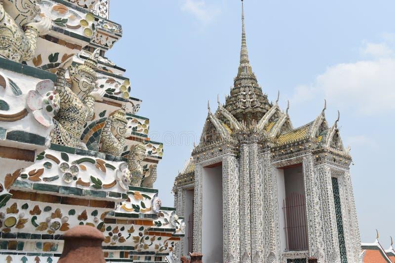 Παγόδα wat arun Μπανγκόκ Ταϊλάνδη, ένας από το διασημότερο ναό σε Thialand στοκ εικόνες με δικαίωμα ελεύθερης χρήσης