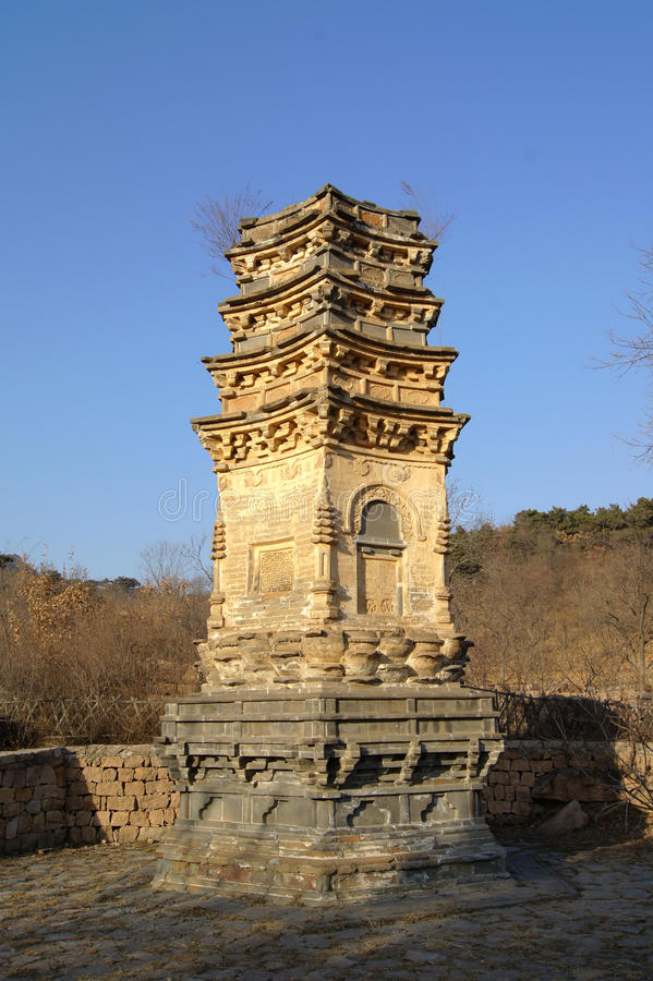 Παγόδες Yinshan στοκ φωτογραφία με δικαίωμα ελεύθερης χρήσης