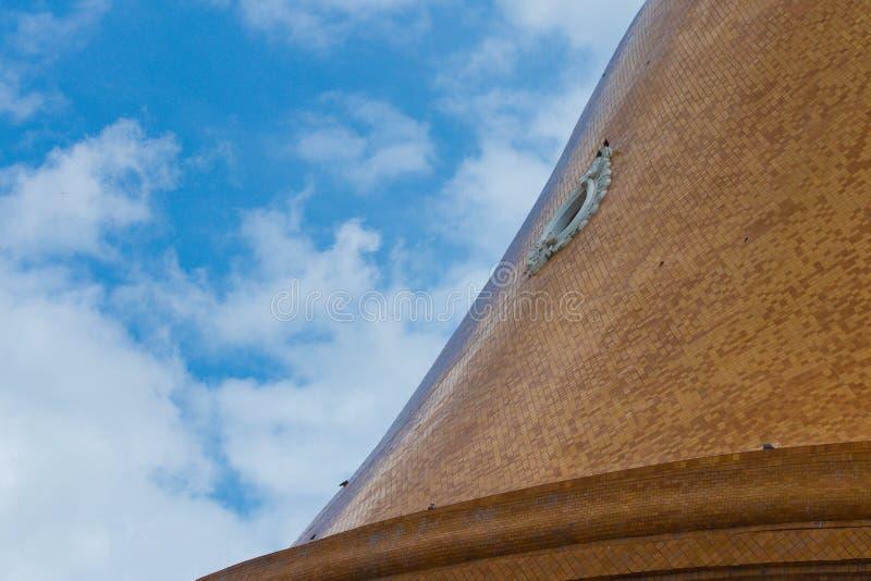 Παγόδα με τον ουρανό στοκ φωτογραφίες με δικαίωμα ελεύθερης χρήσης