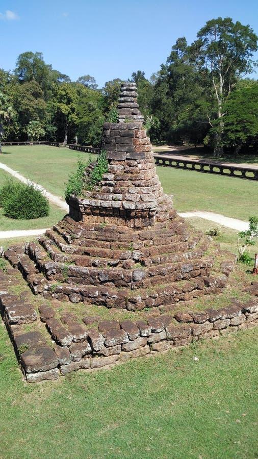 Παγόδα του ναού της Καμπότζης στοκ φωτογραφία με δικαίωμα ελεύθερης χρήσης