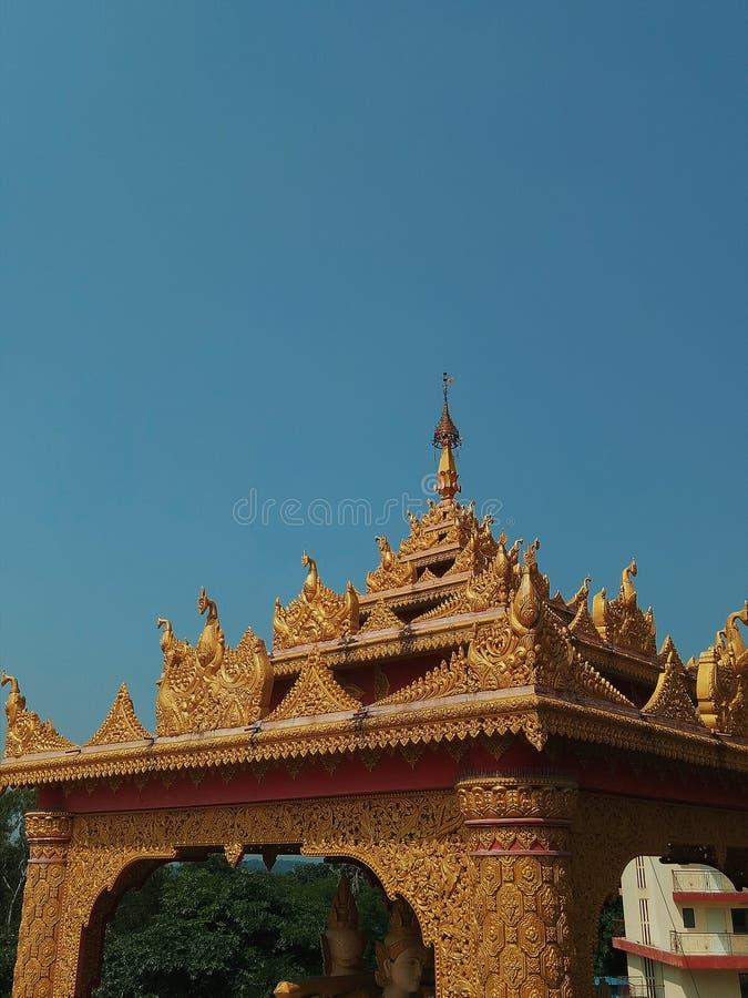 Παγόδα Gorai στοκ εικόνα με δικαίωμα ελεύθερης χρήσης