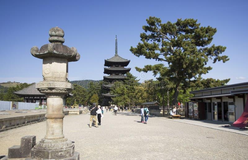 Παγόδα Kofukuji, Νάρα, Ιαπωνία στοκ φωτογραφία με δικαίωμα ελεύθερης χρήσης