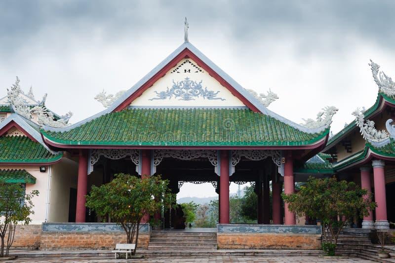 Παγόδα Linh Ung ναών στοκ φωτογραφία με δικαίωμα ελεύθερης χρήσης