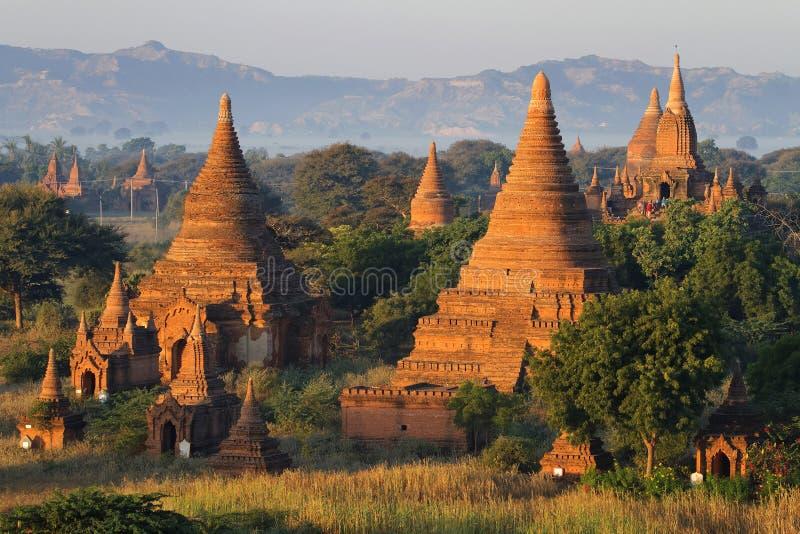 Παγόδες και ναοί σε Bagan στοκ φωτογραφία με δικαίωμα ελεύθερης χρήσης
