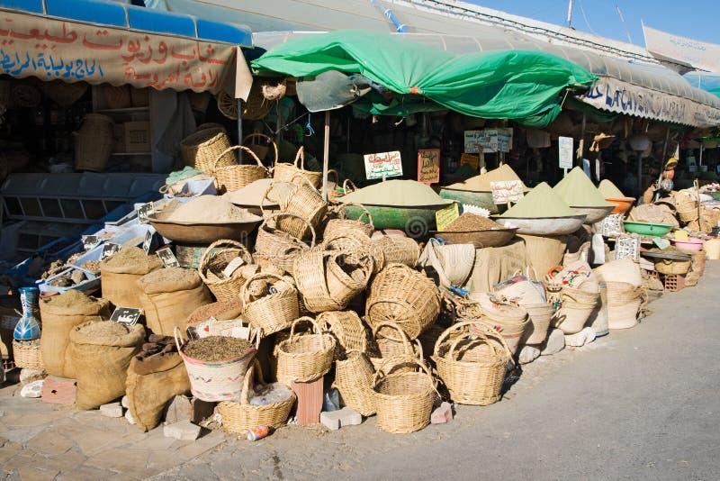 παζάρι Τυνησία καλαθιών gabes στοκ φωτογραφίες